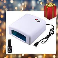 УФ Лампа 818 36W, лак tertio в подарок