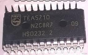 Микросхема TEA5710 Демонтаж