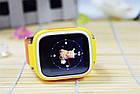Детские умные часы-телефон с GPS трекером Smart Watch Q90 Жёлтые, фото 2