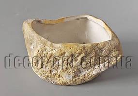 Кашпо під камінь 14х12х6см К. 001.12