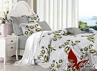 Комплект постельного белья полуторный с компаньоном PL5804 ТМ TAG 1,5-спальный, постельное белье полуторка