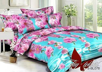 Комплект постельного белья семейныйPS-BL078 ТМ TAG постельное белье семейное