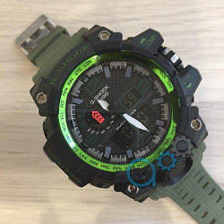 Casio G-Shock GWG-1000 Black-Green-Militari Wristband