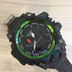 Casio G-Shock GWG-1000 Black-Green