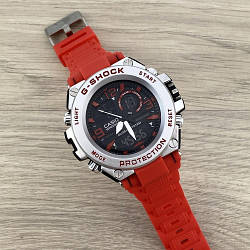 Casio G-Shock Red-Silver