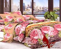 Комплект постельного белья семейныйXHY203 ТМ TAG постельное белье семейное