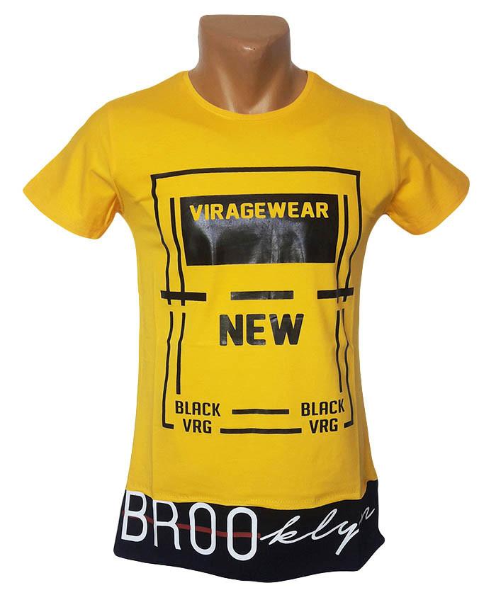 Мужская футболка Viragewear желтый