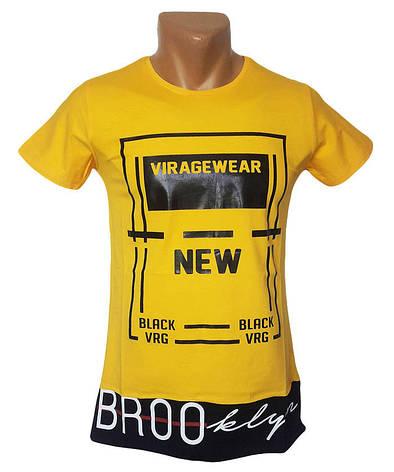 Мужская футболка Viragewear желтый, фото 2