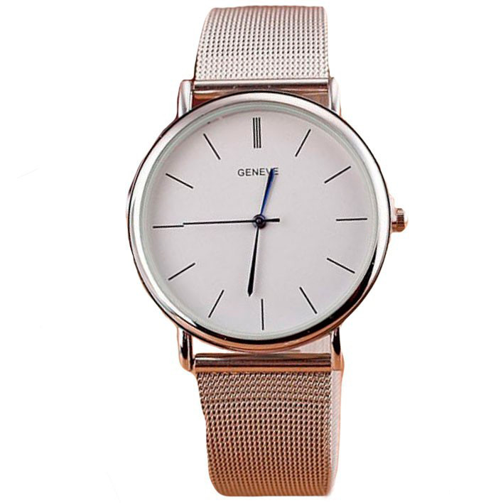 Женские часы Geneva 1366 Silver