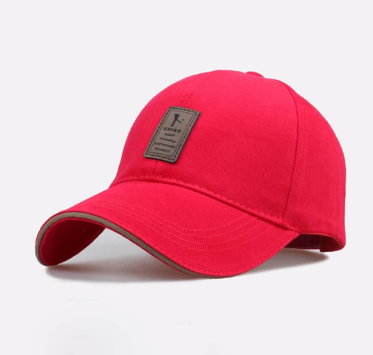 Прикольная мужская кепка, красный