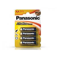 Батарейки Panasonic Alkaline Power LR-03 / блистер 4 шт (12) (60)