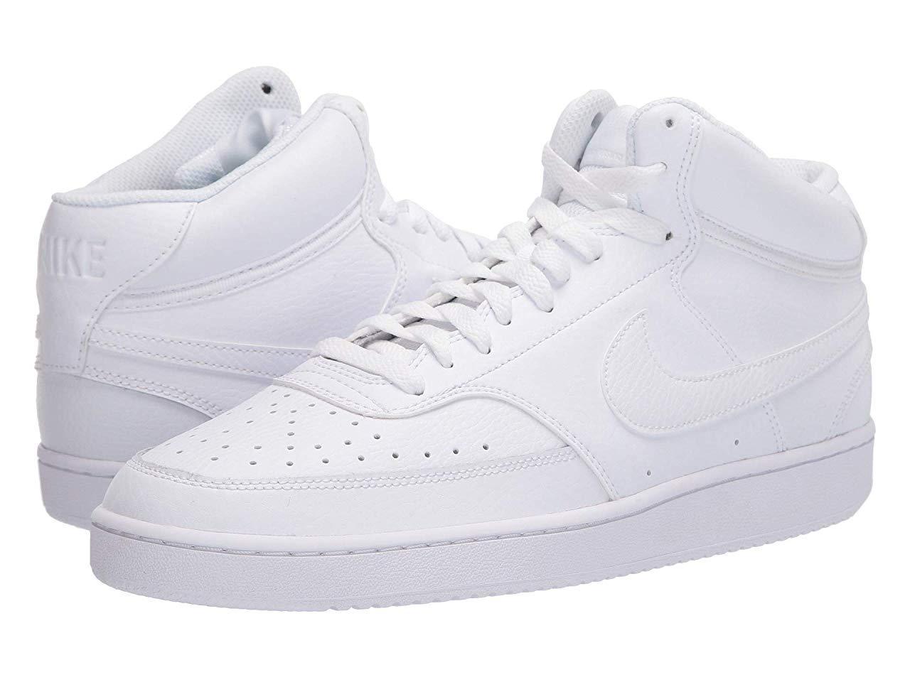 Кроссовки/Кеды Nike Court Vision Mid White/White/White