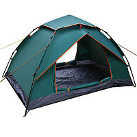 Палатка-автомат двухместная зеленая SY-A51