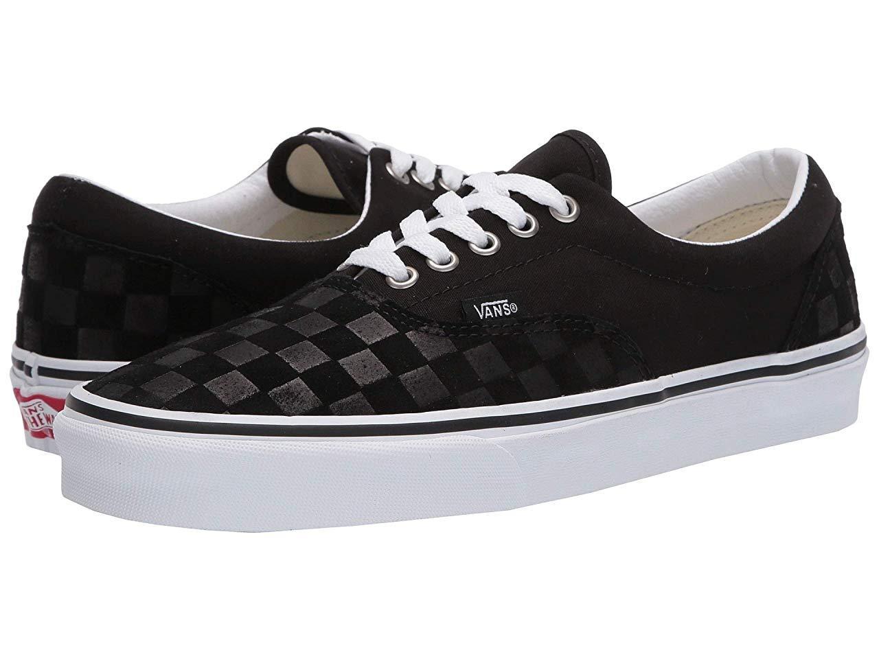 Кроссовки/Кеды Vans Era™ (Deboss Checkerboard) Black/True White