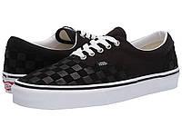 Кроссовки/Кеды Vans Era™ (Deboss Checkerboard) Black/True White, фото 1