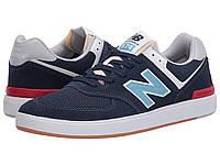 Кроссовки/Кеды New Balance Numeric AM574 Navy/Blue, фото 1
