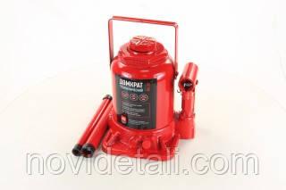 Домкрат пляшковий, 20т низький, червоний H=190/350