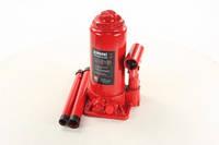 Домкрат бутылочный, 5т, красный H=195/380
