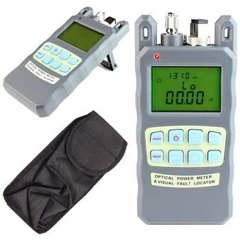 Измеритель оптической мощности и локатор оптоволокна 10мВт 2в1