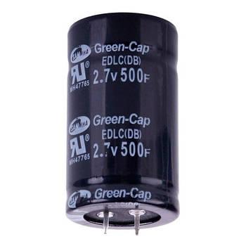 Ионистор суперконденсатор 500Ф 2.7В 35х60мм