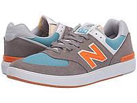 Кроссовки/Кеды New Balance Numeric AM574 Grey/Orange, фото 1