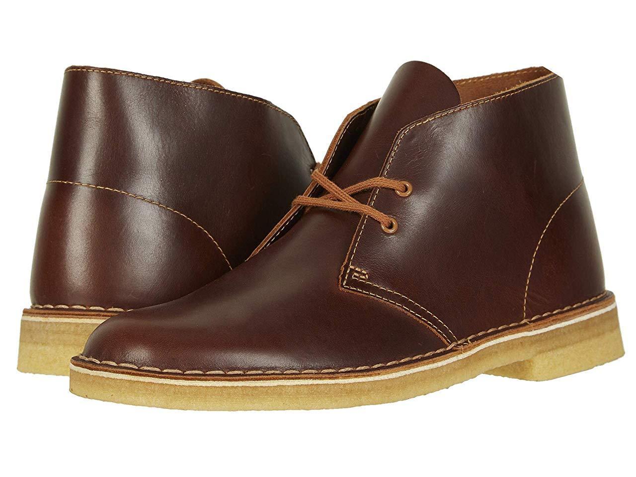 Ботинки/Сапоги Clarks Desert Boot Tan Leather