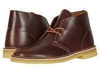Ботинки/Сапоги Clarks Desert Boot Tan Leather, фото 1
