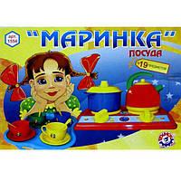 """Набір посуду """"Маринка"""" 1554 / Технокомп /"""