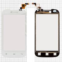 Сенсорный экран (touchscreen, тачскрин) для Nomi i401 Colt, белый, (117x60,5 мм), #Y106060E1-R, оригинал