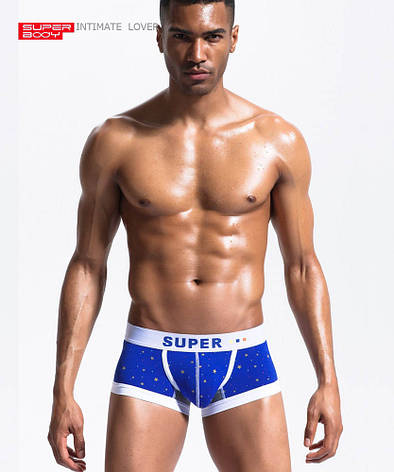 Синее нижнее белье SuperBody, фото 2