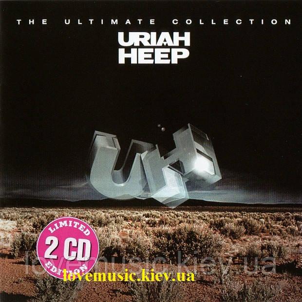 Музичний сд диск URIAH HEEP Easy living The ultimate collection (2003) (audio cd)