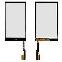 Сенсорный экран (touchscreen, тачскрин) для HTC One M8, One M8 Dual SIM, One M8e, черный, оригинал