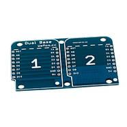 Модуль разветвитель Двойная плата Wemos D1 D1 mini, фото 2