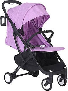 Прогулочная коляска Yoya Plus Фиолетовая с черной рамой (670065029)