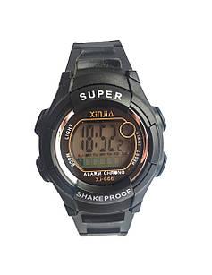 Наручные часы  Xinjia 666 спортивные электронные Черные