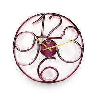 Годинник настінний Rikon №9951 D Pink/P/