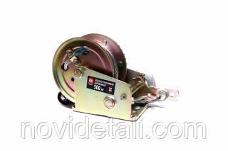 Лебідка важільна барабанна 500 кг, 5мм х 10м сталевий трос