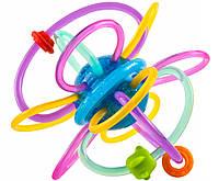 Погремушка-прорезыватель для зубов трещотка Hola Toys
