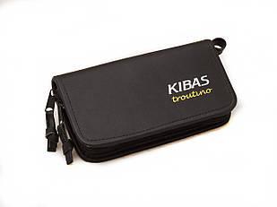 Кошелек для блесен KIBAS из экокожи M Черный (KS5021)