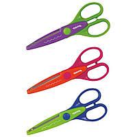 Ножницы Colorino для бумаги с фигурной кромкой в блистере (в ассорт.) 52184PTR ТМ: Colorino