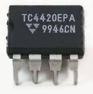 Микрорсхема TC4420CPA MOSFET DRIVER 6A DIP8.
