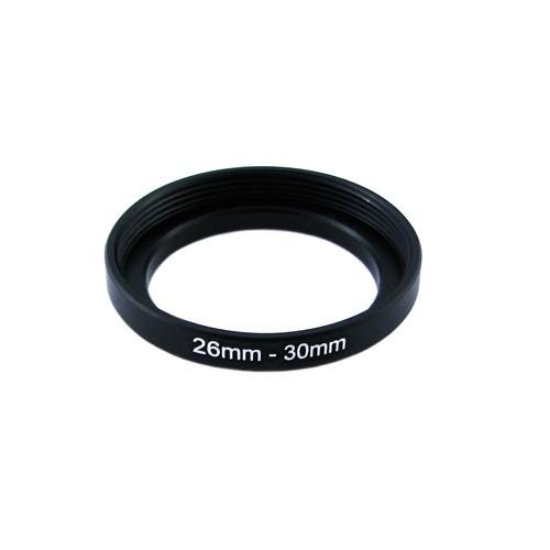 Повышающее степ кольцо 26-30мм для Canon, Nikon