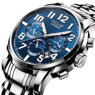 Мужские часы Aesop 08902 Silver