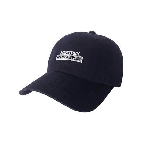 Стильна кепка New York, синій, фото 2