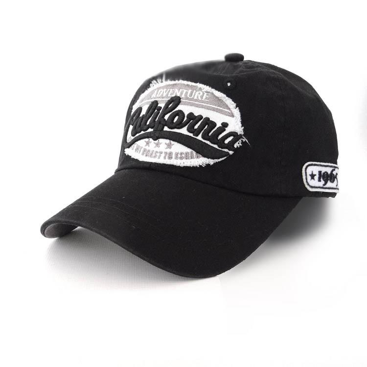 Подростковая кепка Usa California, черный