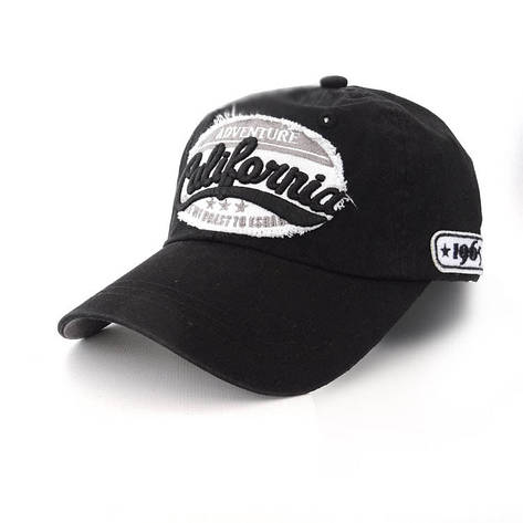 Подростковая кепка Usa California, черный, фото 2