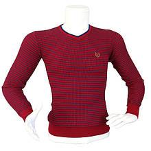 Мужской красный свитер - №2169