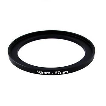 Повышающее степ кольцо 58-67мм для Canon, Nikon