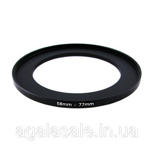 Підвищує степ кільце 58-77мм для Canon, Nikon