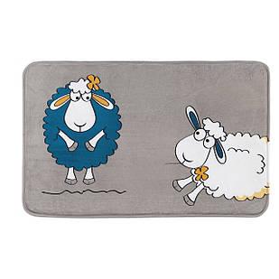 Коврик в ванную комнату Tatkraft 50 х 80 см Веселые Овечки (14947)